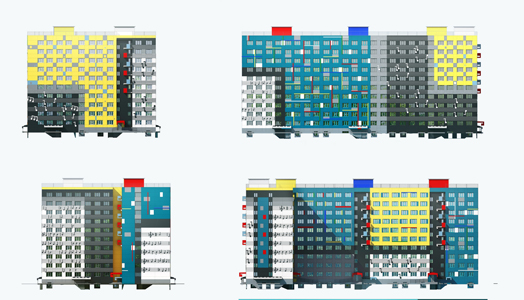 India Art n design features The Musician House by A. Len Architect Bureau
