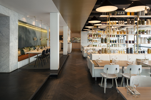 India Art n Design features Nevel gourmet restaurant in Holland by Concrete