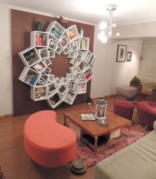 India Art n Design features designs for personal nooks and bookshelves