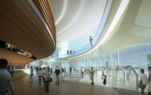 India Art n Design features Centre de Calais, Paris to be designed by Arte Charpentier Architectes & Abciss-Architectes