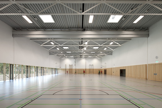 India Art n Design features Gainfam School, Austria by  franz-architekten
