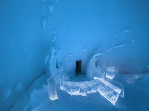 India Art n Design features Ice Hotel, Sweden 2014