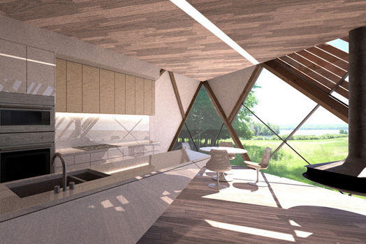 India Art n Design features Bigwin Gold Club, Ontario  proposal by MU Architecture