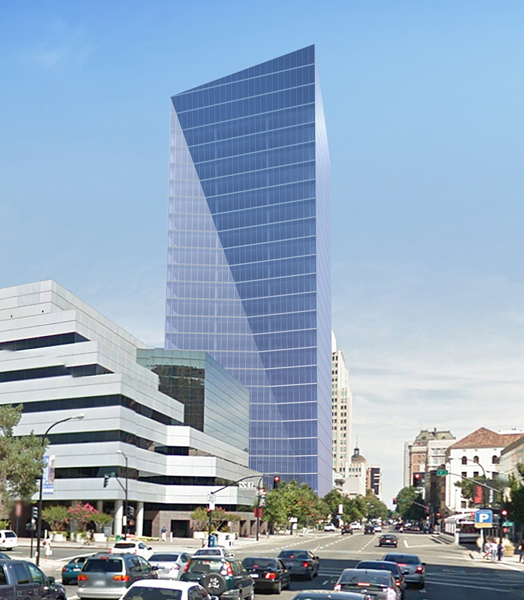 India Art n Design features 26-storey glass-clad tower in Downtown Sacramento, New York by Pei Cobb Freed & Partners