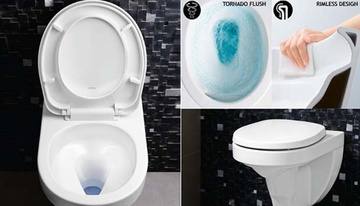 India Art n Design features Voxser Toilets from TOTO