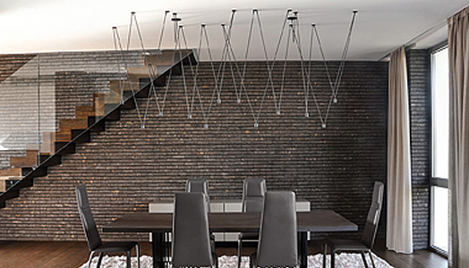 India Art n Design features Vibia-Match Sculptural lighting