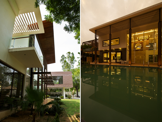 India Art n Design features farmhouse in South Delhi by Spaces Architects@ka