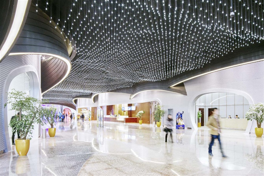 India Art n Design features Wanda Movies Theme Park at Wuhan by Stufish Entertainment Architects