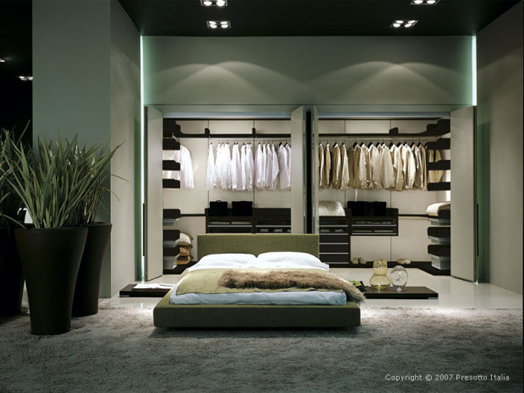 India Art n Design features tips on designing Walk-in Wardrobes