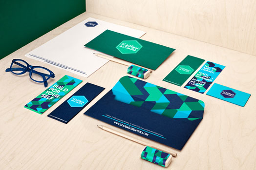 branding on stationery