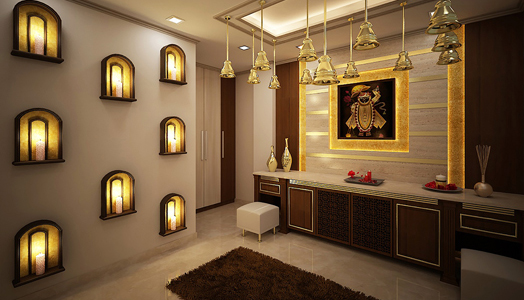 Enjoyable Interior Design For Mandir In Home Prayer Room Design Ideas For Largest Home Design Picture Inspirations Pitcheantrous