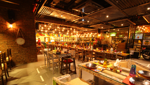 overview of PunChin restaurant pune