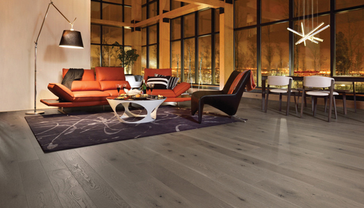 hardwood flooring from Mirage