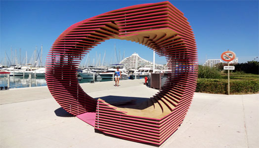 anamorphic pavillion at FAV