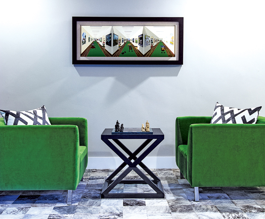 deep-seated furniture