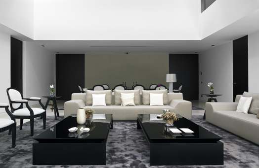 lavish living area