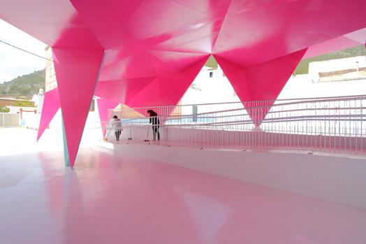 origami in architecture