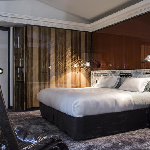 suite at Les Bains, Paris