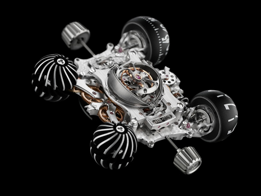 red dot 2015 best of best awardee - MB&F HM6 Space Pirate