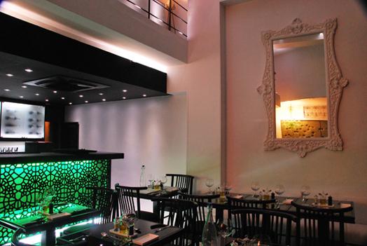green bar at chez vous