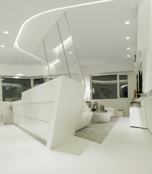 India Art n Design features Madrid penthouse by A-cero design