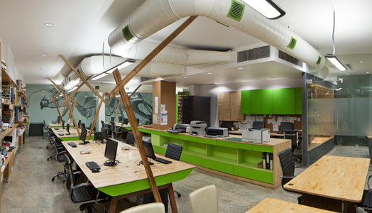 India Art n Design features Anagram Architects' office in Delhi