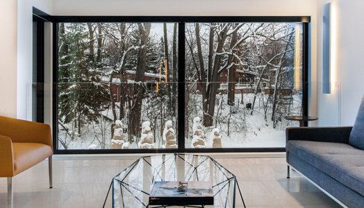 India Art n Design features Du Tour Residence in Laval, Canada by Clairoux