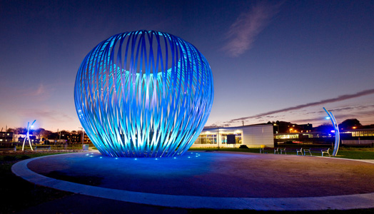 Havre public art installation at MUHC Quebec