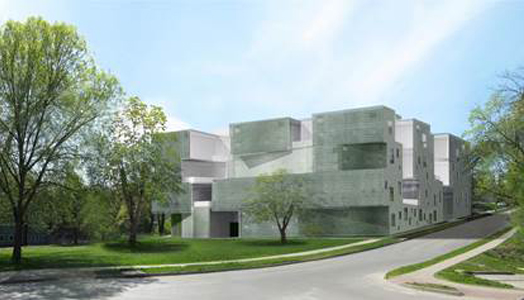 India Art n Design features new visual arts building at the University of Iowa by Steven Holl Architects
