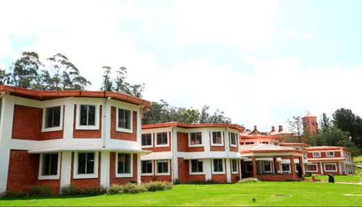 new wing at Lawrence School, Ooty by OCI Architects