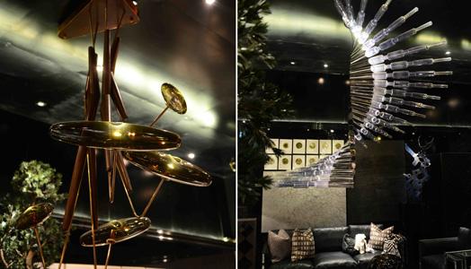 India Art n Design features Lighting Art installation by Klove Studio
