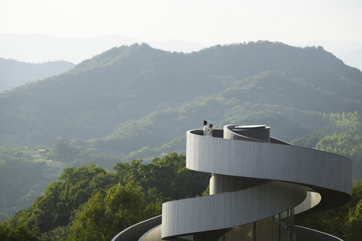 India Art n Design features Ribbon Chapel by Hiroshi Nakamura