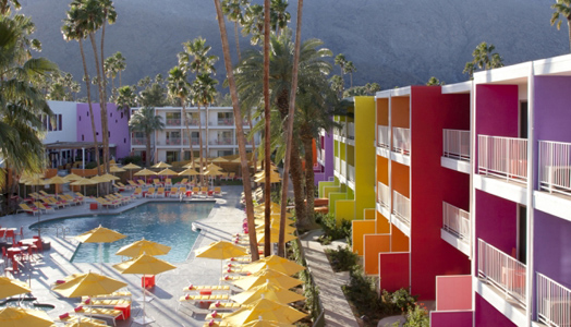 India Art n Design features The Sagaro Palm Springs Hotel, California by StambergAferiat + Associates