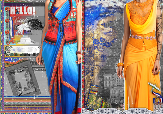 Composites for Tarun Tahiliani's Spring Summer Collection 2015
