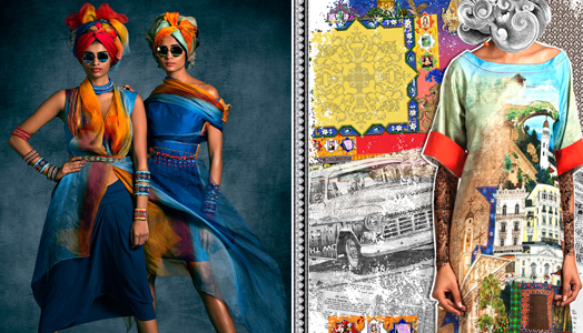 Tarun Tahiliani's Spring Summer 15 Collection inspired by art of Singh Twins
