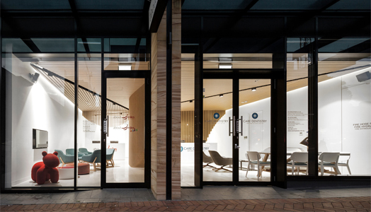 dentist clinic by pedra silva architects