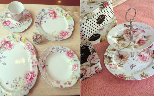 vintage crockery by AA Living