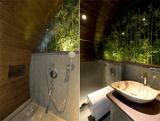nature themed bathroom