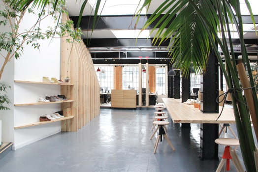 zoning - Clarks Originals design space