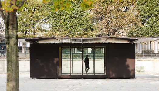 Kiosque by Bouroullec Brothers for Parisian public