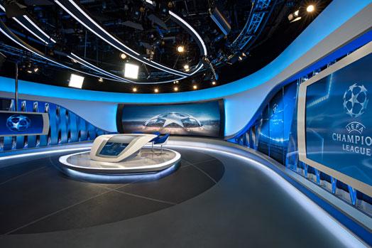 Veech x Veech designed ORF Sports Broadcasting Studio