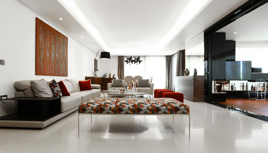 plush living rooms