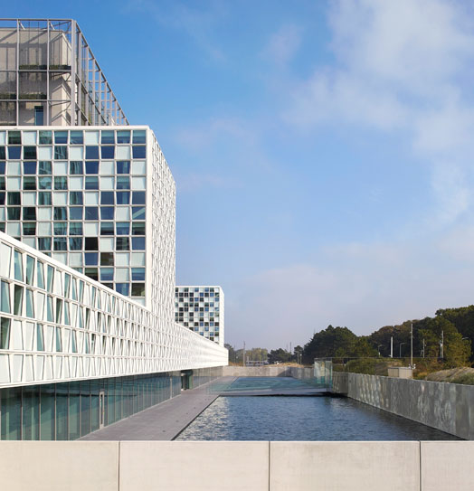 International Criminal Court in the Hague, Netherlands.
