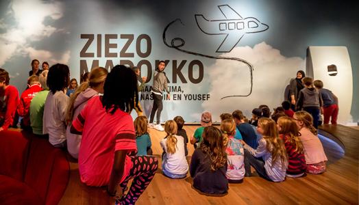 recreating Morocco in Amsterdam - Ziezo Marokko exhibition