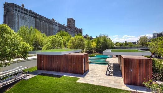 Bota Bota Gardens by MU Architecture