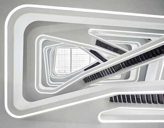mixed-use Dominion Office Building in Moscow by Zaha Hadid Architects