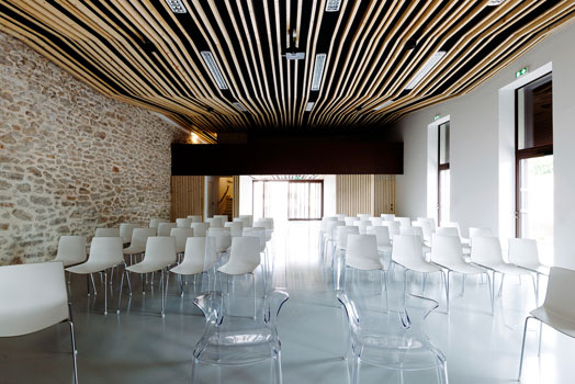 Jacou city hall cum wedding room by NBJ Architectes…