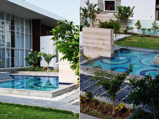 udaipur residence - landscape design