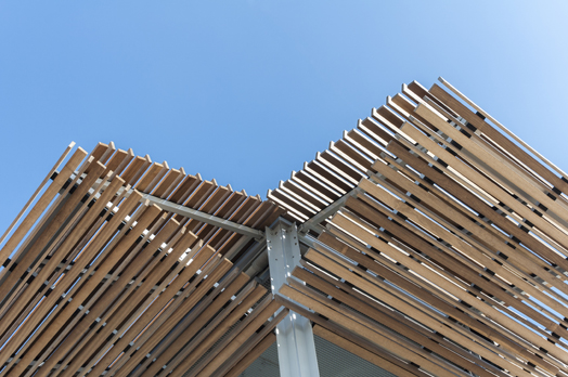 lifeguard nesselande - openable wooden louvers