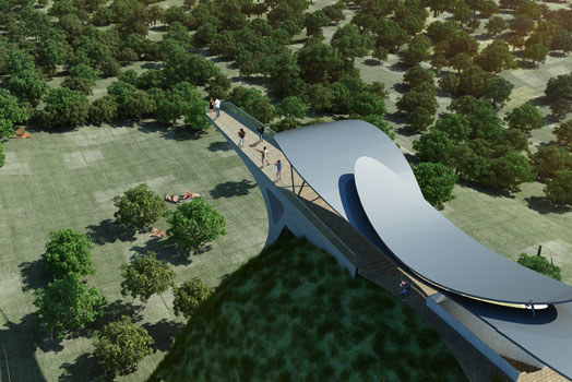 concept for the Lion Safari Park in Etawah